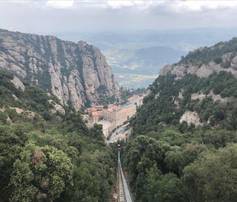 Montserrat: view from the top