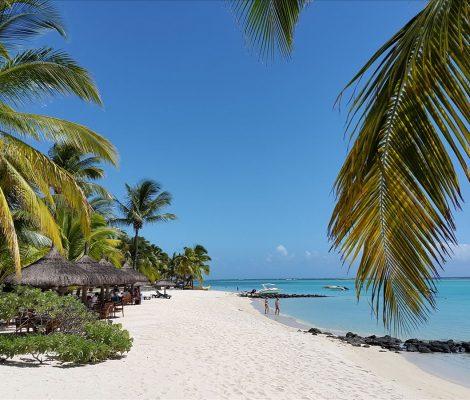 Mauritius paradise beach