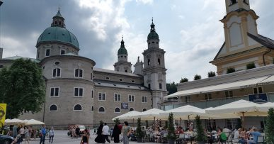 Salzburg in a summertime